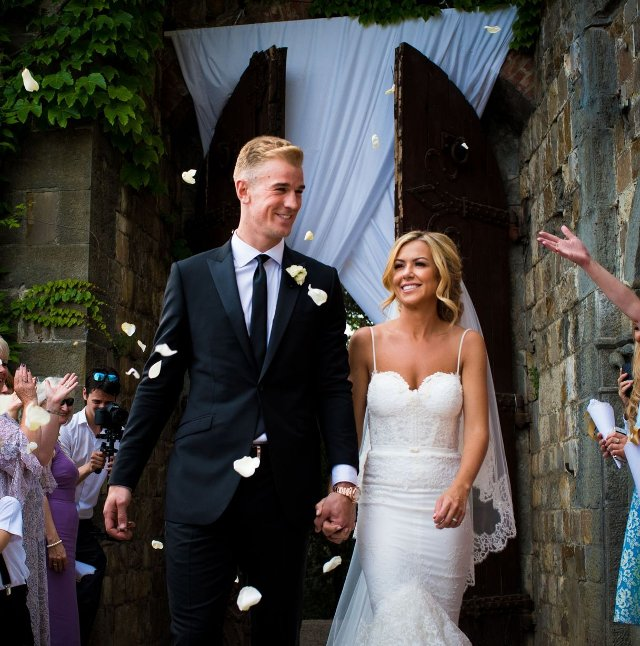 Joe Hart wedding