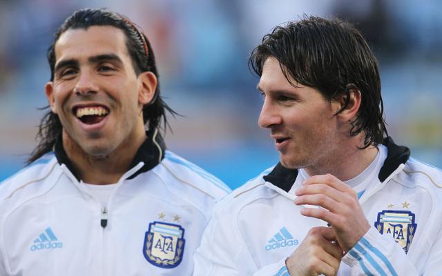 Lionel Messi & Carlos Tevez - Argentina