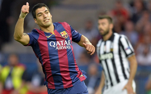 Luis Suarez Barcelona Juventus