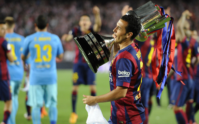 Arsenal Target Pedro Signs New Barcelona Contract