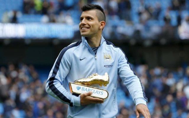 Sergio Aguero Man City