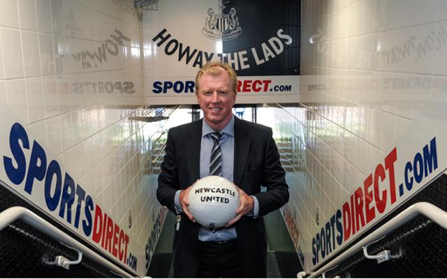 Steve McClaren Newcastle United