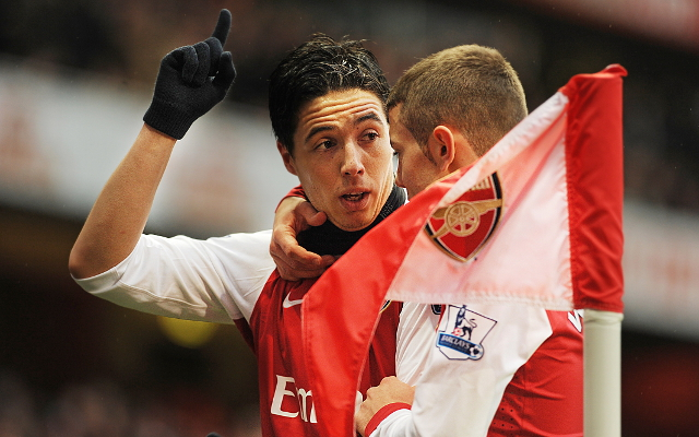 Wilshere & Nasri - Arsenal