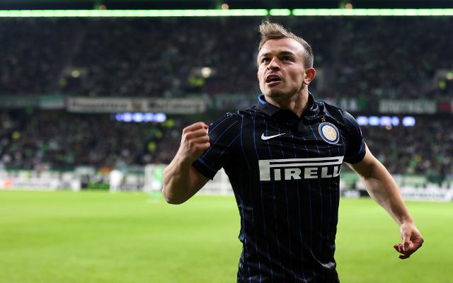 Xherdan Shaqiri Inter Milan