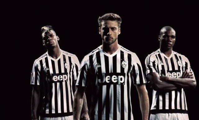 Juventus new shirt Pogba Marchisio Ogbonna