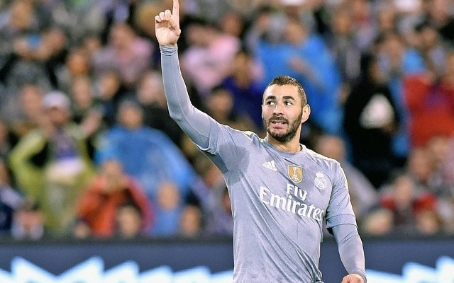 Karim Benzema Real Madrid Man City
