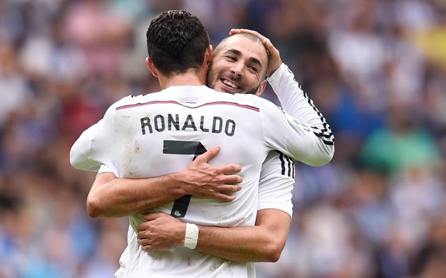 Ronaldo Benzema Real Madrid