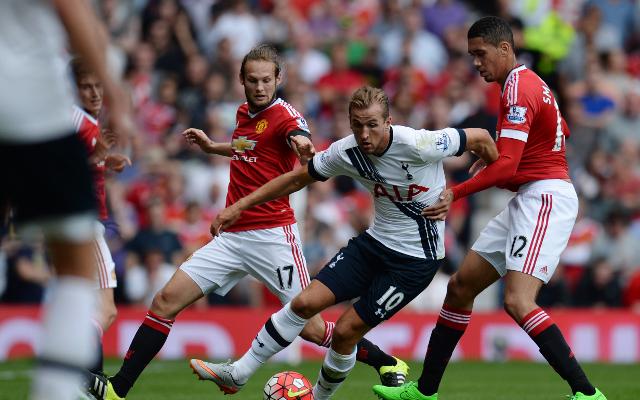 Harry Kane & Daley Blind - Man Utd vs Tottenham
