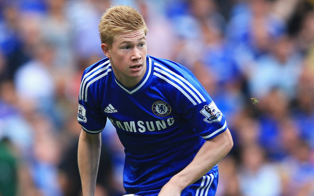 Kevin De Bruyne during his Chelsea days