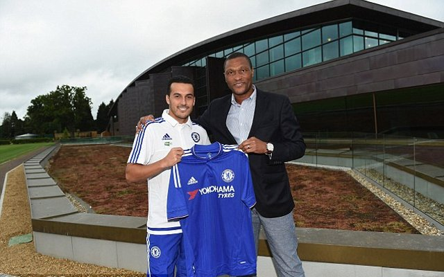 Pedro Chelsea shirt