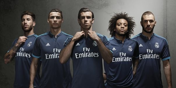 sports shoes 83aad 3b087 Real Madrid third kit pictures