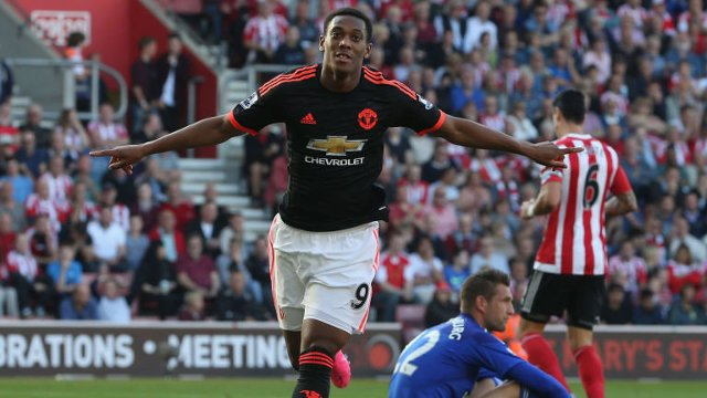 Anthony Martial Man Utd Southampton