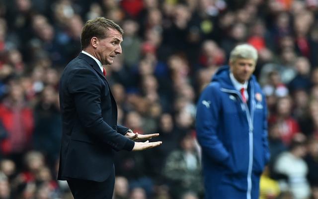 Brendan Rodgers Arsene Wenger