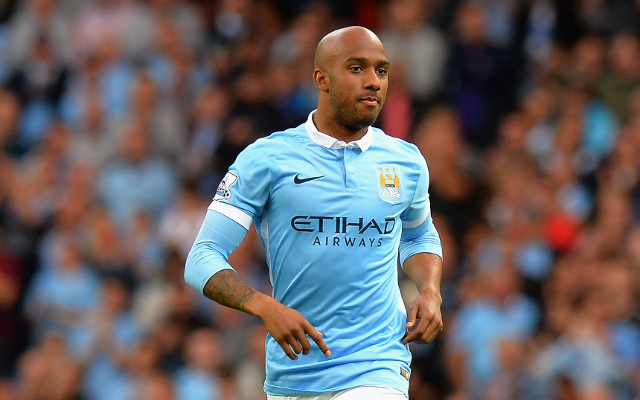 Man City's Fabian Delph