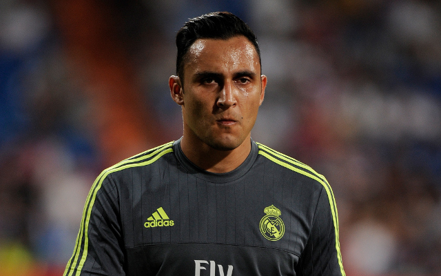 <> at Estadio Santiago Bernabeu on August 18, 2015 in Madrid, Spain.