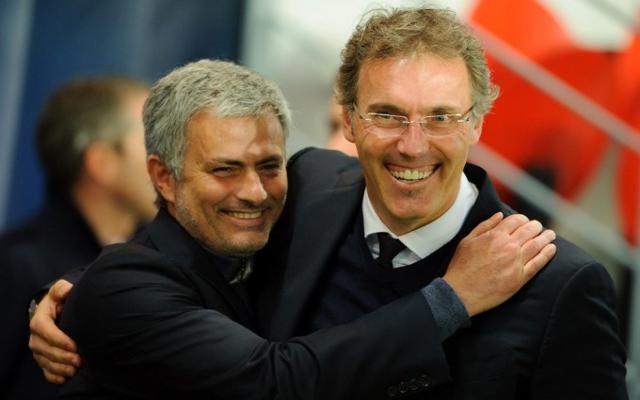 Jose Mourinho & Laurent Blanc