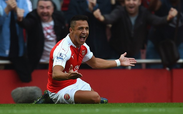 Alexis Sanchez Arsenal Man Utd