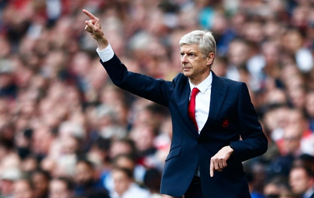 Arsene Wenger Arsenal Man Utd