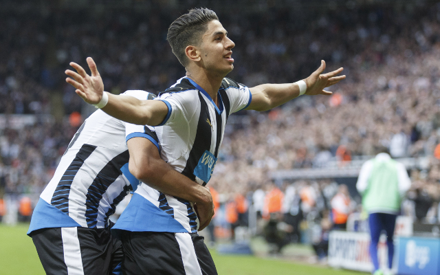 Ayoze Perez Newcastle United