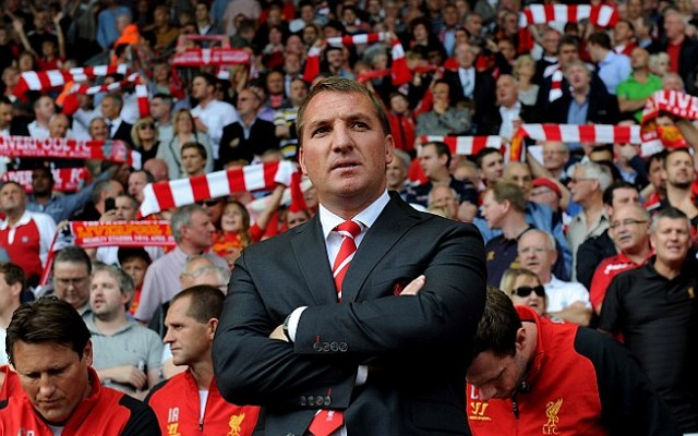 Brendan Rodgers Liverpool Anfield