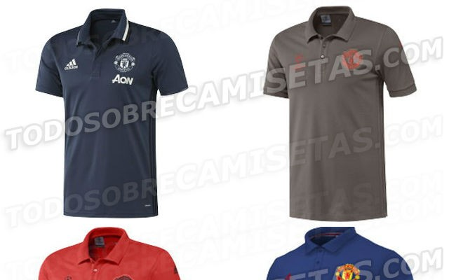 pick up 58226 8ff8a Leaked images of Man United's 2016/17 training kit