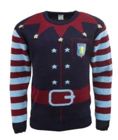 Aston Villa Christmas jumper