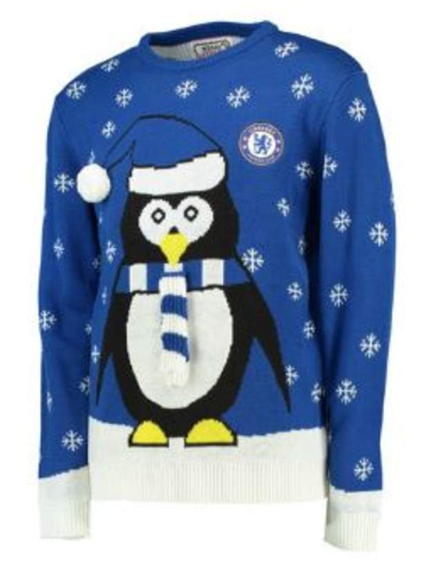Chelsea FC Christmas jumper