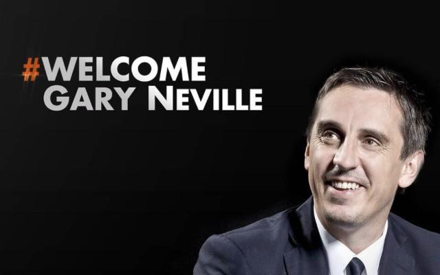 Gary Neville Valencia manager