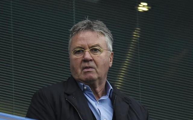 Guus Hiddink back at Chelsea