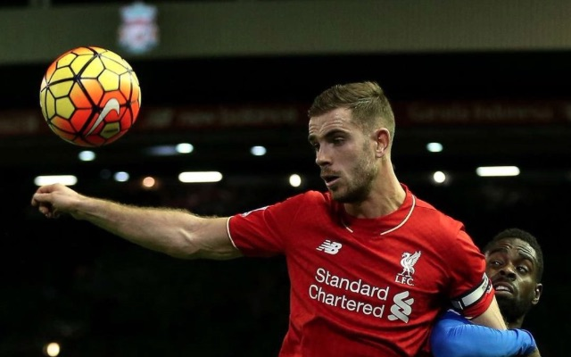 Jordan Henderson Liverpool v Leicester