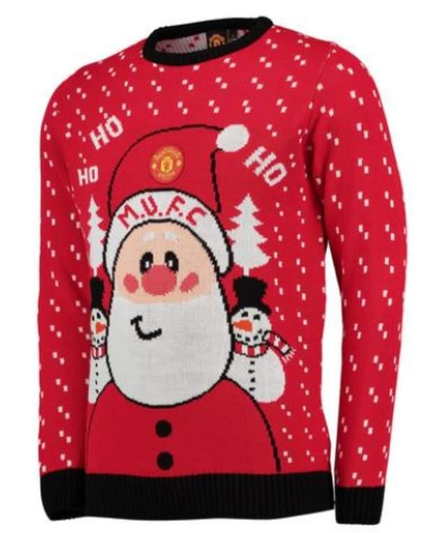 Man United Christmas jumper