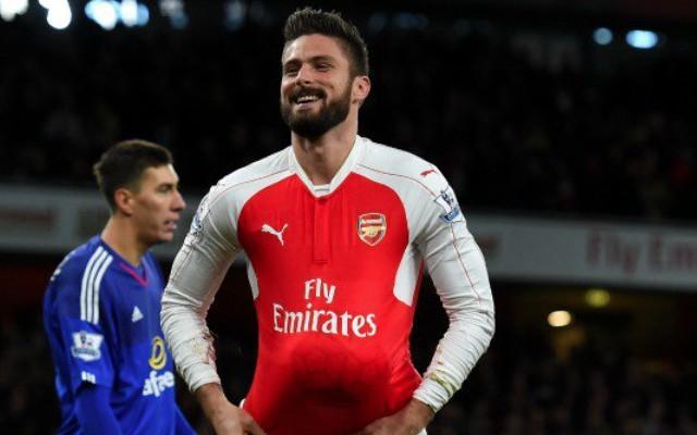 Olivier Giroud vs Sunderland