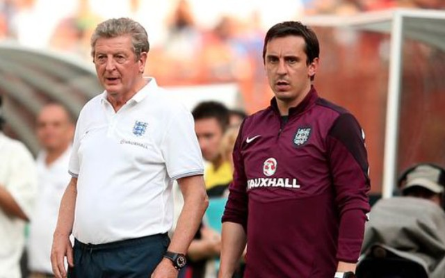 Roy Hodgson Gary Neville