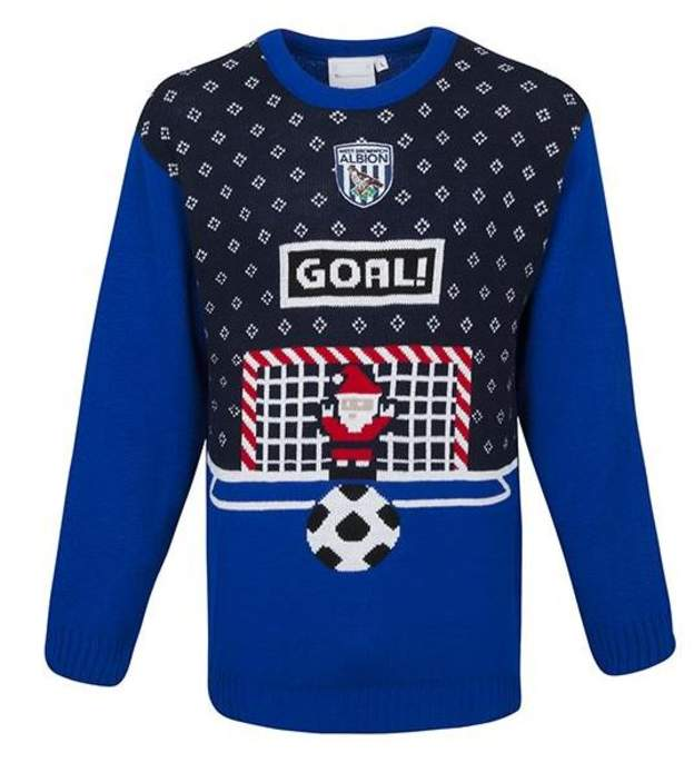 West Brom Christmas jumper