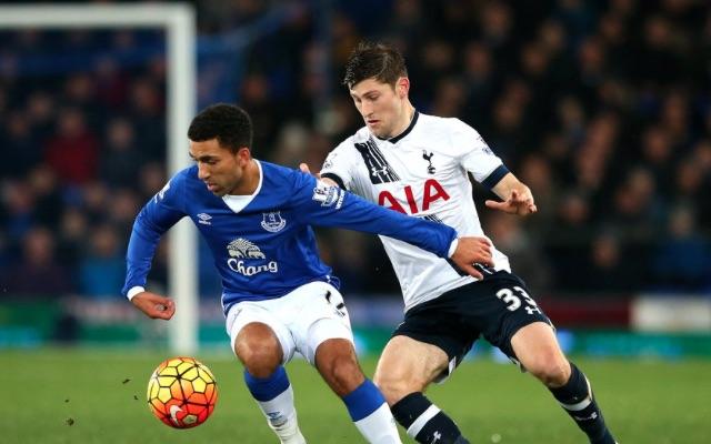Ben Davies Spurs v Everton
