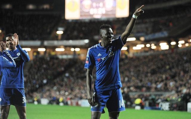 Bertrand Traore Chelsea v MK Dons