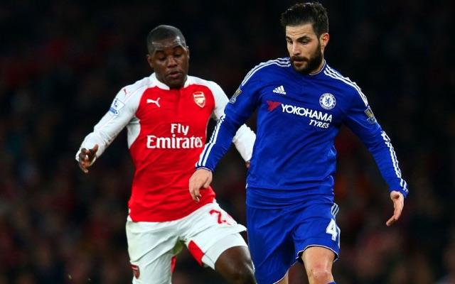 Cesc Fabregas Chelsea v Arsenal