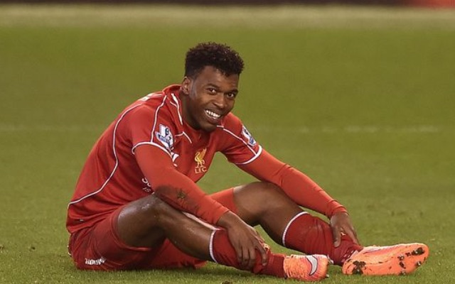 Daniel Sturridge crocked