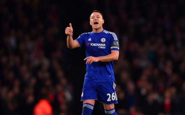 John Terry Chelsea v MK Dons