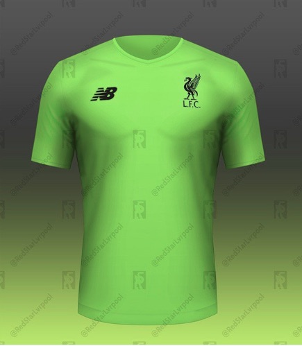 Liverpool green kit 1