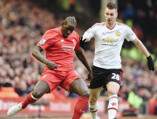 Mamadou Sakho Liverpool v Man United
