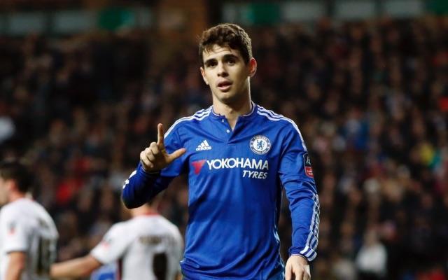 Oscar Chelsea v MK Dons