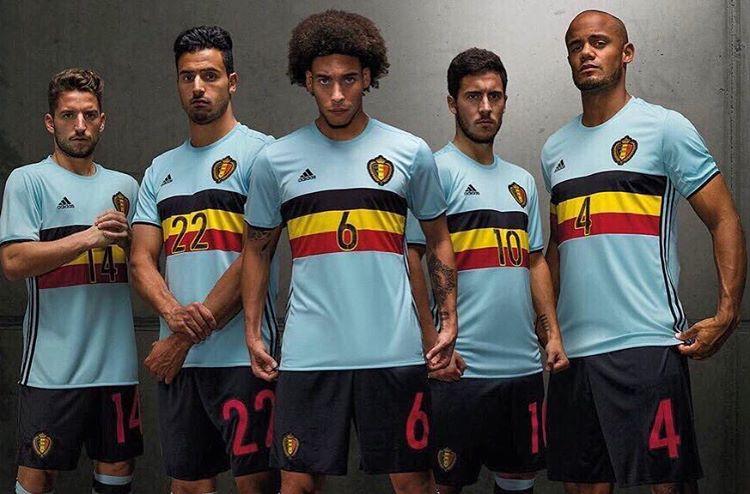 Belgium away kit