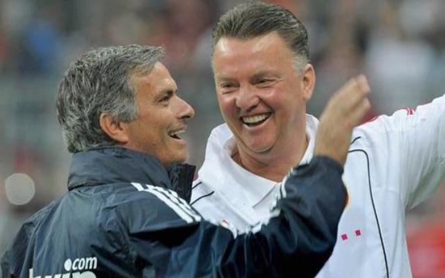 Jose Mourinho & Louis van Gaal
