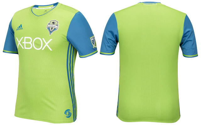 Seattle Sounders kit 1