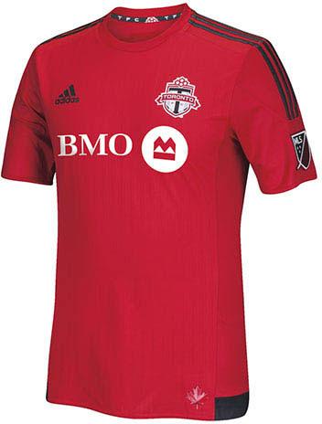 Toronto FC home kit 2015