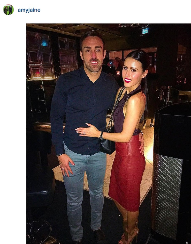 Jose Enrqiue and Amy Jaine