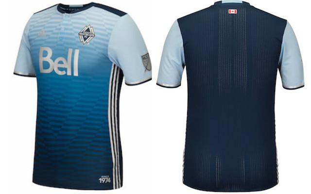 Vancouver Whitecaps kit