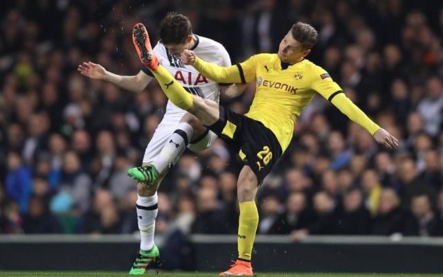 Ben Davies Tottenham v Dortmund