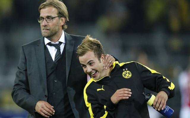 Mario Gotze recalls hilarious story involving Jurgen Klopp and hair transplant
